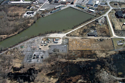 Harbor Point is approximately 140 acres of land located between Utica Barge